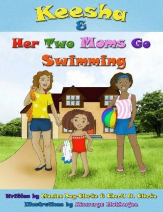 Keesha & Her Two Moms Go Swimming