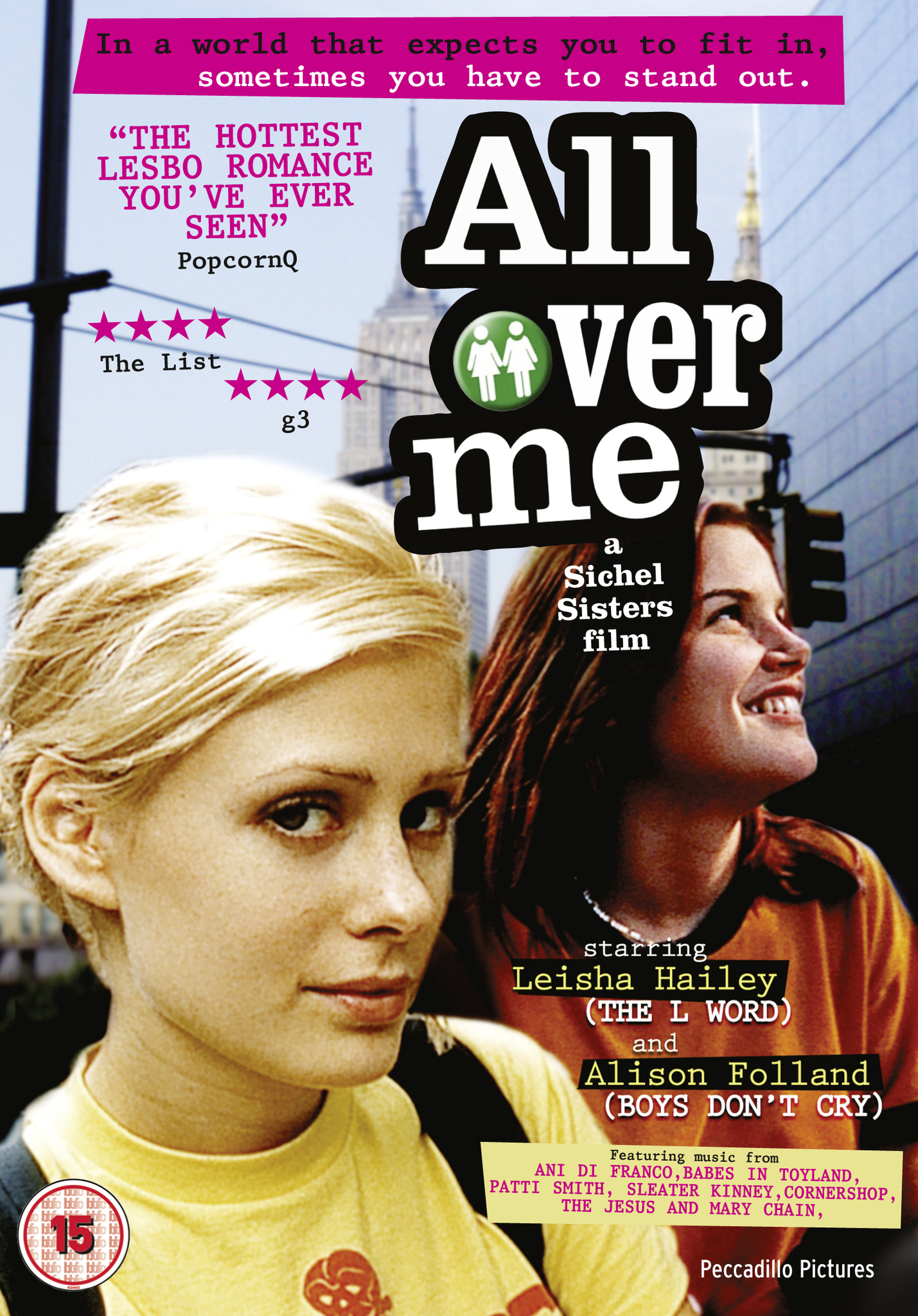 Reseña de All Over Me